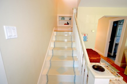 Oak Bluffs Martha's Vineyard vacation rental - Painted Stairway to Bedrooms