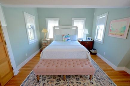 Oak Bluffs Martha's Vineyard vacation rental - Master Bedroom with Shared Balcony
