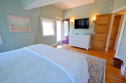 Oak Bluffs Martha's Vineyard vacation rental - Master Bedroom with Shared Balcony