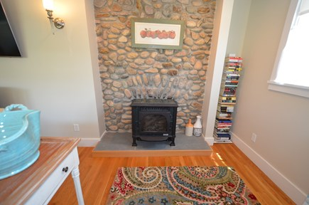 Oak Bluffs Martha's Vineyard vacation rental - Wood Stove in Living Room