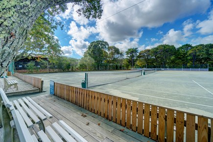 Oak Bluffs Martha's Vineyard vacation rental - Practice your drop shot on one of the three Har-Tru tennis courts