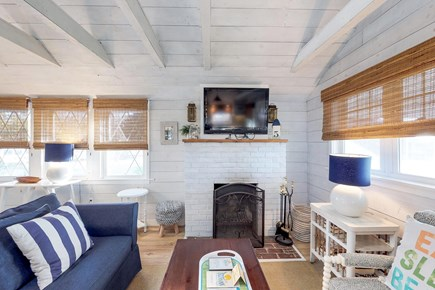 Oak Bluffs Martha's Vineyard vacation rental - A queen-sized sofa bed is located in living room