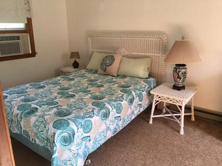 Edgartown, Ocean Heights Martha's Vineyard vacation rental - Second floor Rattan bedroom, Queen bed with a/c