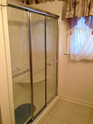 Edgartown, Ocean Heights Martha's Vineyard vacation rental - 2nd floor bathroom with large walk-in shower