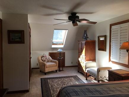 Edgartown, Ocean Heights Martha's Vineyard vacation rental - Large master bedroom, King bed with spacious walk in closet