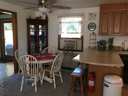 Edgartown, Ocean Heights Martha's Vineyard vacation rental - Breakfast nook with dining area
