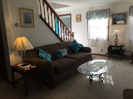 Edgartown, Ocean Heights Martha's Vineyard vacation rental - Open living room, kitchen and dining room