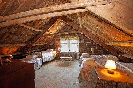 Chappaquiddick, Edgartown Martha's Vineyard vacation rental - Attic room- Updated to a King Bed!