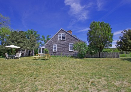 Chappaquiddick, Edgartown Martha's Vineyard vacation rental - Side yard for games and relaxation