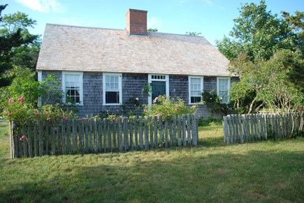 Chappaquiddick, Edgartown Martha's Vineyard vacation rental - Front yard