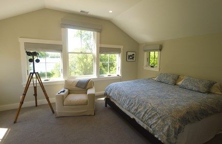 West Tisbury Martha's Vineyard vacation rental - Master King with private bath second floor