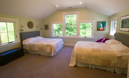 West Tisbury Martha's Vineyard vacation rental - Queen and Full with private bath second floor