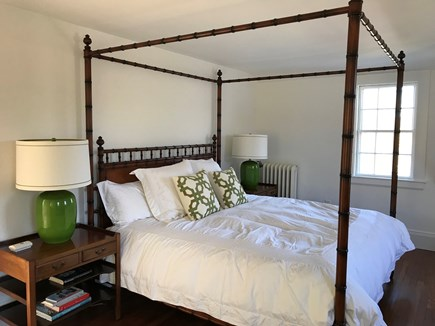 Vineyard Haven Martha's Vineyard vacation rental - Upstairs Master bedroom with king bed