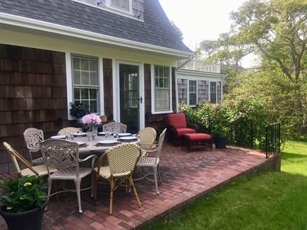 Vineyard Haven Martha's Vineyard vacation rental - Garden view
