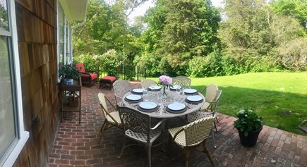 Vineyard Haven Martha's Vineyard vacation rental - Outside Patio