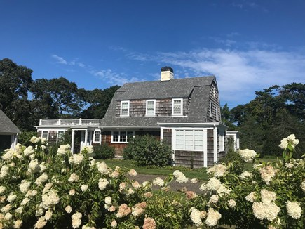 Vineyard Haven Martha's Vineyard vacation rental - Side view of home