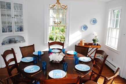 Vineyard Haven Martha's Vineyard vacation rental - Dinging Room
