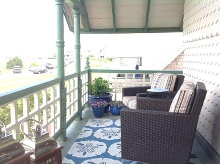 Oak Bluffs Martha's Vineyard vacation rental - One side of front porch.