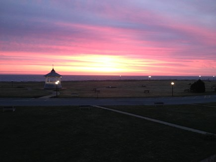Oak Bluffs Martha's Vineyard vacation rental - Daily sunrise from front porch.