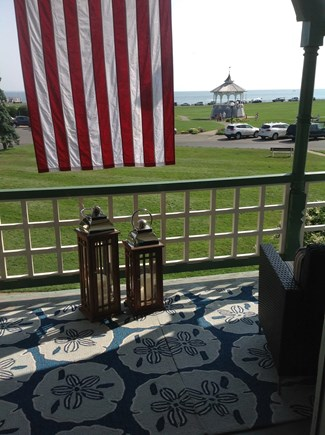 Oak Bluffs Martha's Vineyard vacation rental - Same amazing view from front porch.