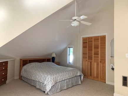 West Tisbury Martha's Vineyard vacation rental - First upstairs bedroom with queen bed.