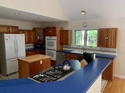 West Tisbury Martha's Vineyard vacation rental - Kitchen features butcher block island, new dishwasher, cook top.