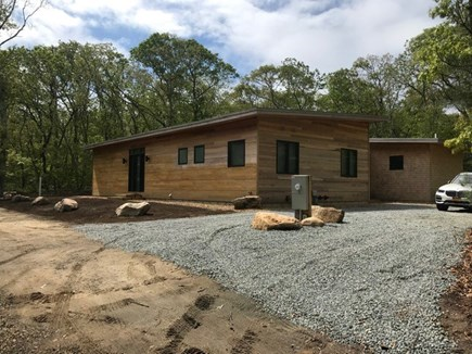 Oak Bluffs Martha's Vineyard vacation rental - Front yard and gravel driveway