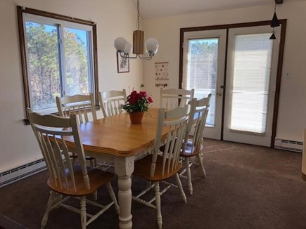 Edgartown Martha's Vineyard vacation rental - Dining Inside with the ambiance of light