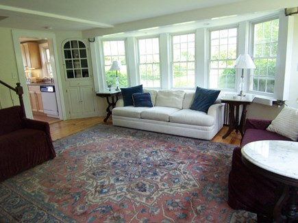 Edgartown Martha's Vineyard vacation rental - Living room
