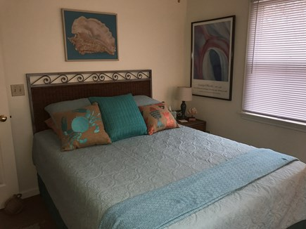 Oak Bluffs Martha's Vineyard vacation rental - 1st floor bedroom with Queen bed.