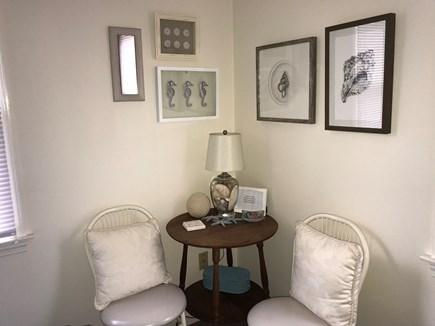 Oak Bluffs Martha's Vineyard vacation rental - 1st floor Queen bedroom sitting area.