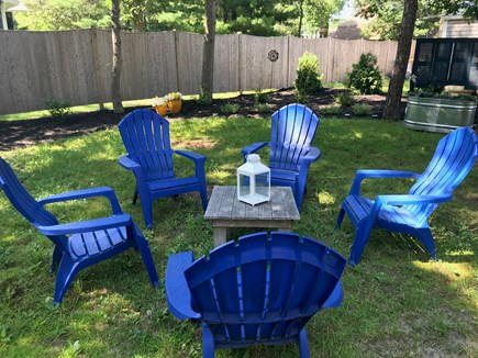 Oak Bluffs Martha's Vineyard vacation rental - Relax  with friends and family in the back yard.