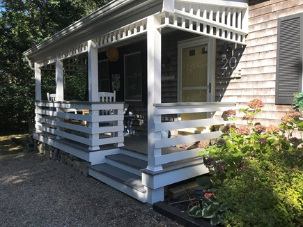 Oak Bluffs Martha's Vineyard vacation rental - Enjoy the Farmers Porch for morning coffee or afternoon cocktails