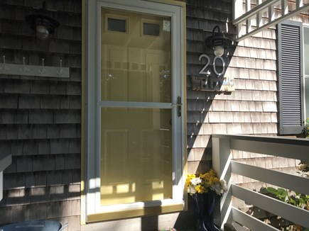 Oak Bluffs Martha's Vineyard vacation rental - Your relaxing Vineyard retreat is just beyond this front door!