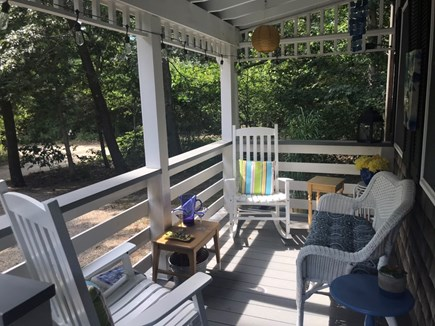 Oak Bluffs Martha's Vineyard vacation rental - Rocking chairs & settee make for intimate conversation or nap!