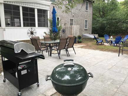 Oak Bluffs Martha's Vineyard vacation rental - 20 x 16 patio for family gathering and entertaining.