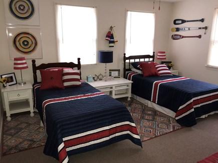 Oak Bluffs Martha's Vineyard vacation rental - 1st floor bedroom with twin beds.