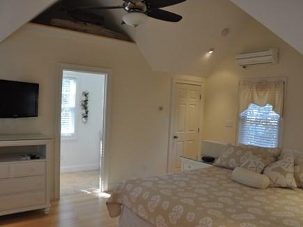 Edgartown Martha's Vineyard vacation rental - Open Bedroom has king bed