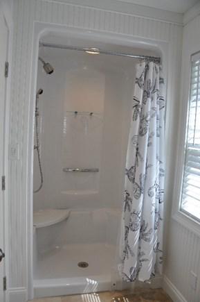 Edgartown Martha's Vineyard vacation rental - Upstairs shower