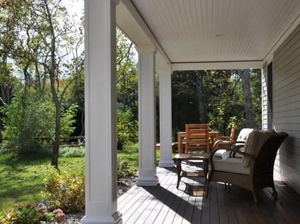 Edgartown Martha's Vineyard vacation rental - Side porch