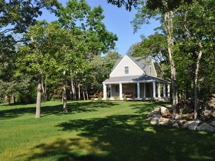 Edgartown Martha's Vineyard vacation rental - Side yard