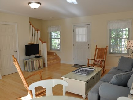 Edgartown Martha's Vineyard vacation rental - Entry, living and stairs