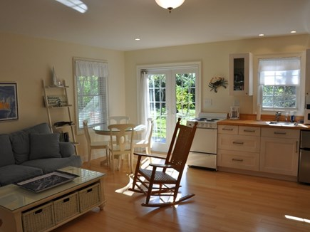 Edgartown Martha's Vineyard vacation rental - Dining area and French doors
