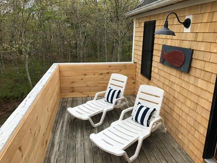 Edgartown Martha's Vineyard vacation rental - 2nd floor private sun deck