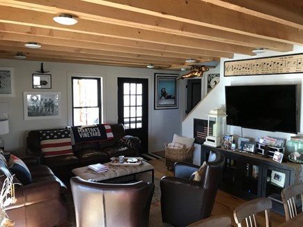 Edgartown Martha's Vineyard vacation rental - Main Family Room