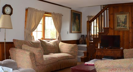 Edgartown, Katama Martha's Vineyard vacation rental - Another view of living room