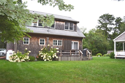 Oak Bluffs Martha's Vineyard vacation rental - Enjoy family time on the outdoor deck
