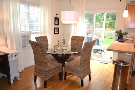 Oak Bluffs Martha's Vineyard vacation rental - Dining area to outdoor deck