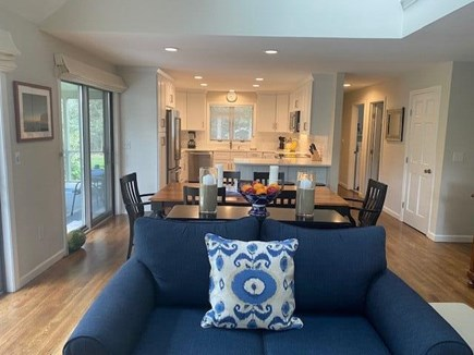 Oak Bluffs Martha's Vineyard vacation rental - Great Room View to Dining & Kitchen