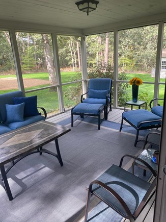 Oak Bluffs Martha's Vineyard vacation rental - Screen porch